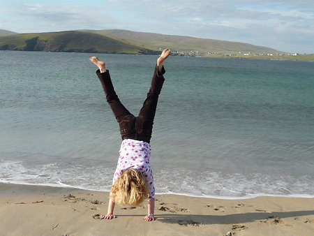 Diary. Levenwick handstand