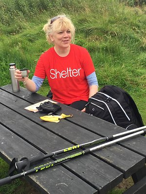 My Fundraising Page. shelteratthebench
